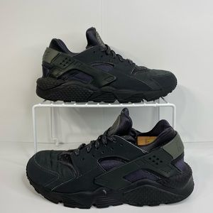 Men's Nike air huarache shoes anthracite grey 10